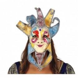 Maska z Wenecji kolorowa z...