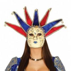 Maska wenecka damska z...