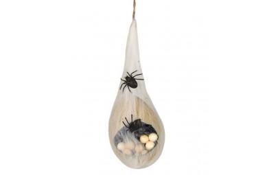 Sztuczna pajęczyna z jajami...