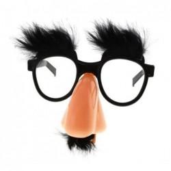 Okulary profesorek czarny