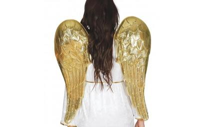 Skrzydła anioła metaliczne...