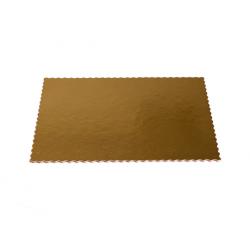 Podkład pod tort złoty prostokąt 30x40cm 2400g 25szt.