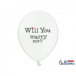 Balon 30cm Will you marry...