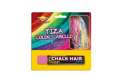 Kreda do włosów różowa