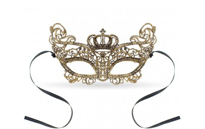 Maska ażurowa Złota Królowa