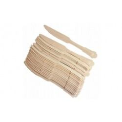 drewniane noże vintage...