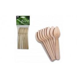Drewniane łyżki jednorazowe...
