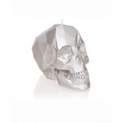 Świeca czaszka srebrna...