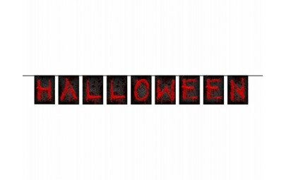 Baner Halloween 16,5x123cm...