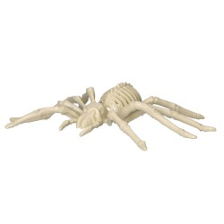 Sztuczny szkielet pająka dekoracja na halloween 25cm