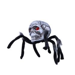 dekoracja halloweenowa ozdobny pająk 34cm
