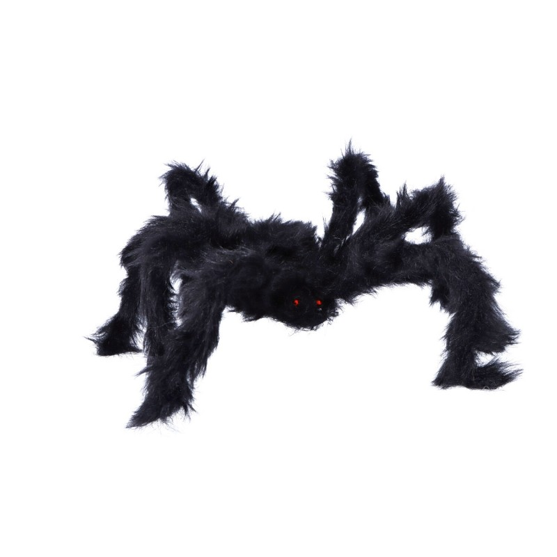 Pająk sztuczny włochaty dekoracja halloween 60 cm