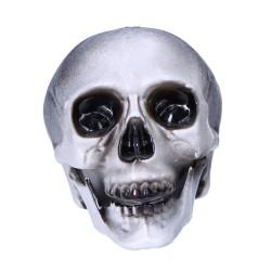 Czaszka dekoracja halloweenowa 20 cm
