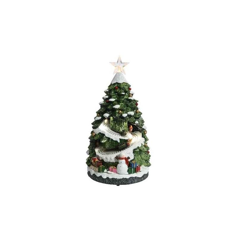 Miasteczko świąteczne led 21,5x20x38cm