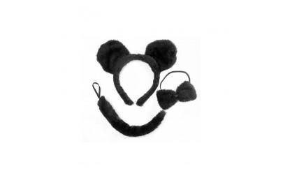 Zestaw myszka opaska uszy,...