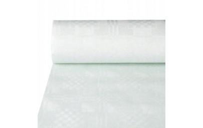 Obrus papierowy biały 50m x 1m