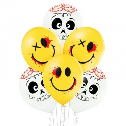 Balon D11 Cute and Creepy 6szt