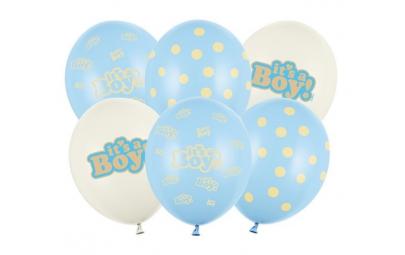 """Balon 30cm It""""s Boy pastel..."""