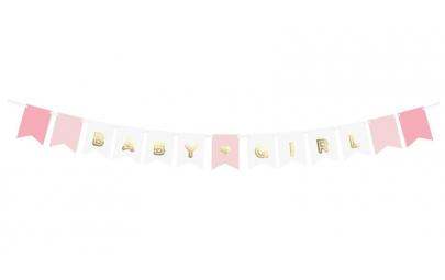 Baner baby Girl mix 15x175cm