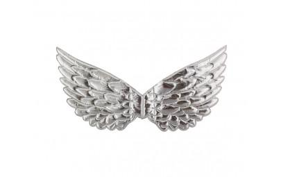 Skrzydełka aniołka srebrne 42cm