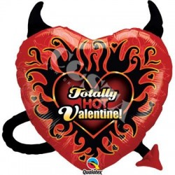BALON 25 HOT VALENTINE 1SZT