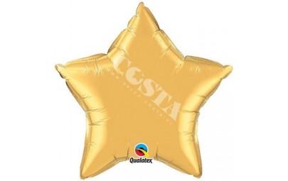 Balon foliowy 36 gwiazda złota