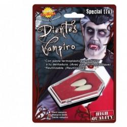Sztuczna szczęka kły wampira