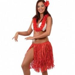 Zestaw hawajski czerwony...