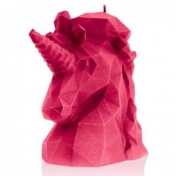 Świeca jednorożec różowa...