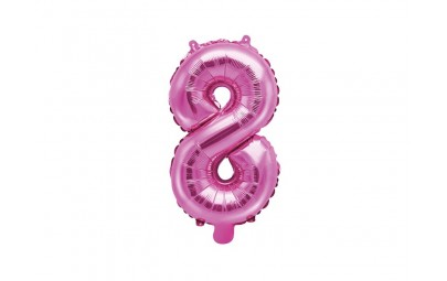 Balon foliowy 14 cyfra 8...