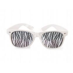 Okulary zebra