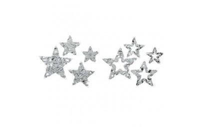 Ozdoba metalowe gwiazdy z...