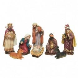Figury do szopki bożonarodzeniowej 12cm 8szt