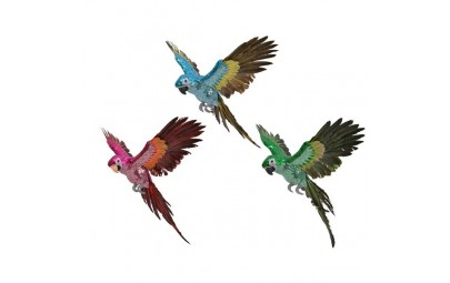 Papuga kolorowa 22x40x16cm