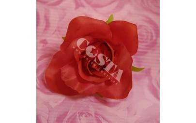 Róża atłasowa czerwona