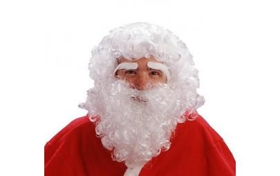 Peruka Mikołaj z brodą i...