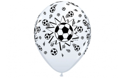 Balon 11 piłka nożna biały...
