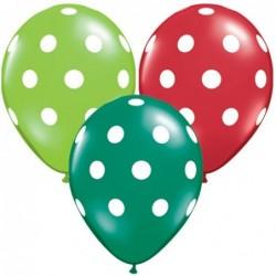 Balon 11 w kropki...