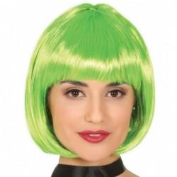 Peruka bob zielony