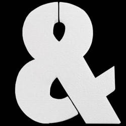 Symbol styropianowy & 20cm