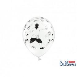 Balon 30cm piłkarz i piłki...