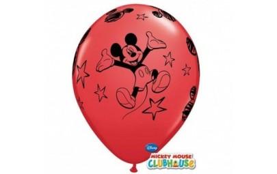 Balon 12 mickey czerwony 6...
