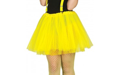 Spódniczka tutu żółta 40cm