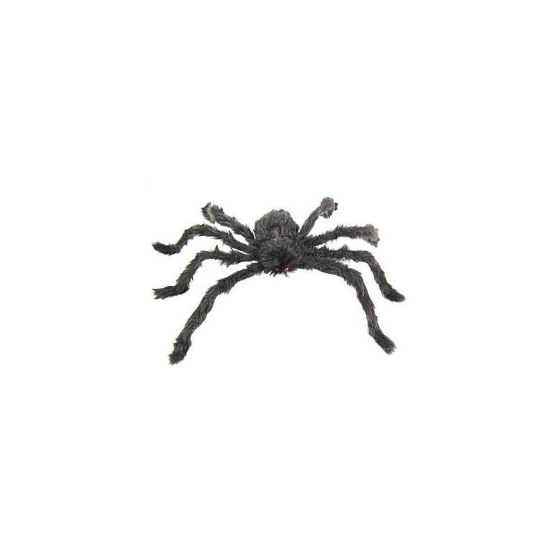 Duży pająk włochaty sztuczny 75 cm