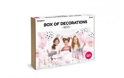 Zestaw dekoracji party-Sweets