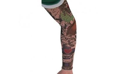 Rękaw z tatuażem Straszny...