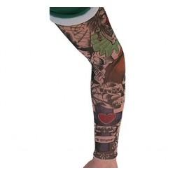 Rękaw z tatuażem Straszny Klaun