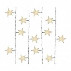 Lampki gwiazdki 40 led wewnętrzne ciepły biały 400cm