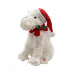 Zabawka pies w czapce...
