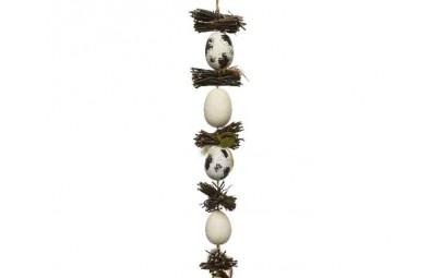 Dekoracja wisząca jajka z...
